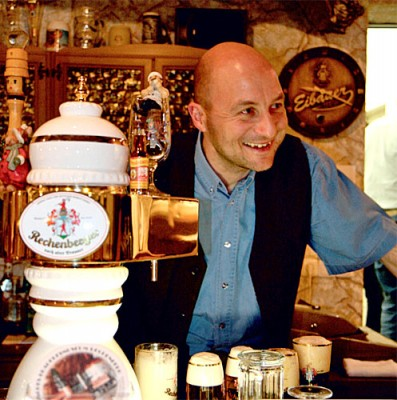 Gastwirt Sven Baumgart