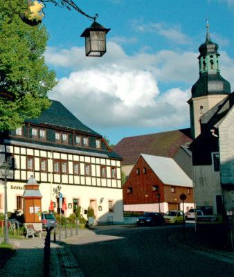 Ratskeller in Geising - einem Stadtteil von Altenberg